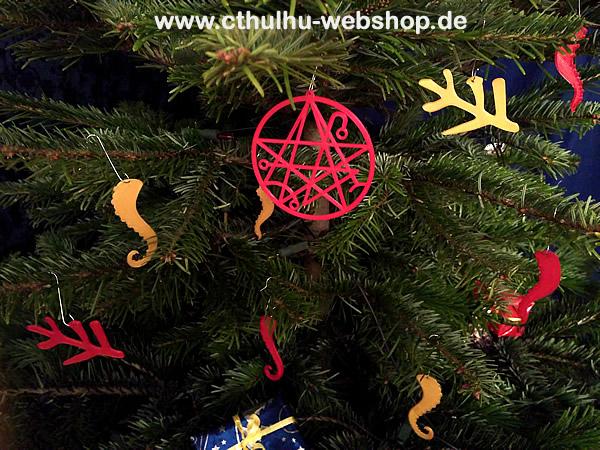 Cthulhu Mythos Weihnachtsbaumschmuck Bild 1