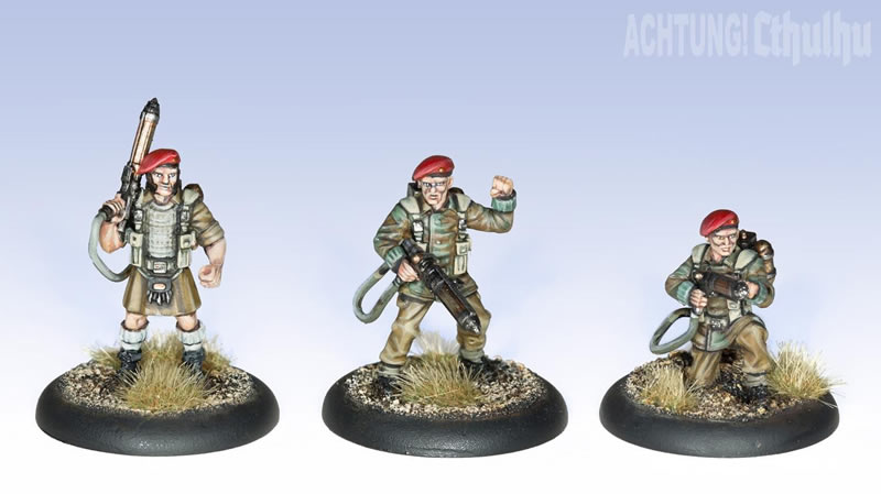 Achtung! Cthulhu: Miniatures - Nazi Villains - Black Sun
