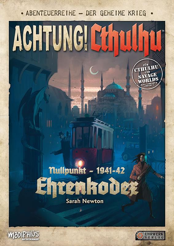 Achtung! Cthulhu: Ehrenkodex - Abenteuerband