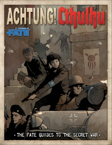 Achtung! Cthulhu: The Fate Guides to the Secret War (englisch)