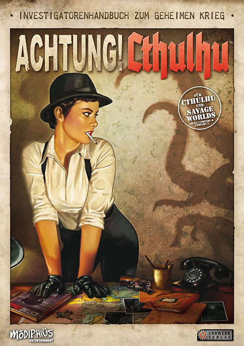 Achtung! Cthulhu: Investigatorenhandbuch (deutsch)