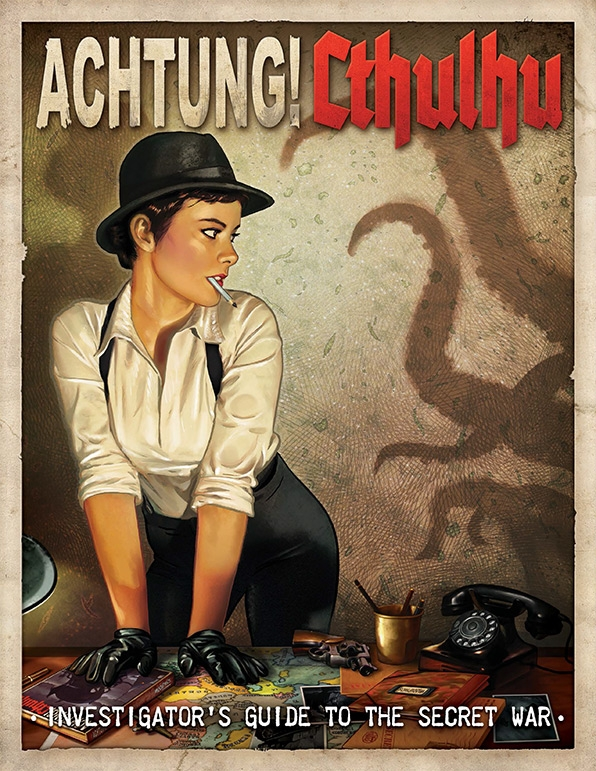 Achtung! Cthulhu: Investigator's Guide (englisch)