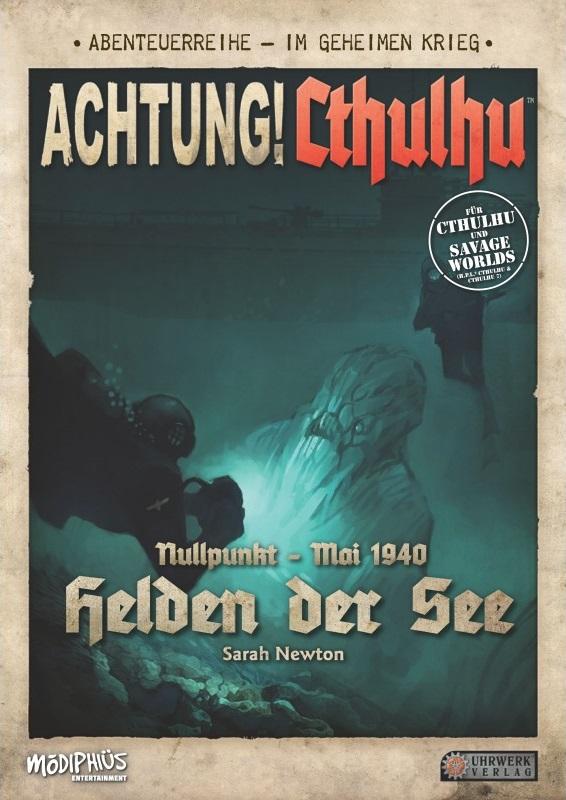 Achtung! Cthulhu: Helden der See - Abenteuerband