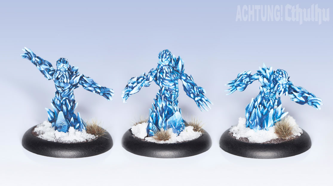 Achtung! Cthulhu: Miniatures - Mythos Creatures - Cold Ones