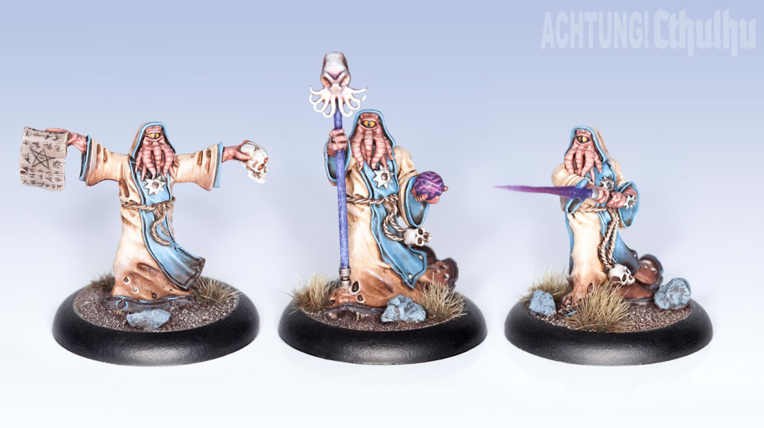 Achtung! Cthulhu: Miniatures - Mythos Creatures - Cultists of the Old Gods