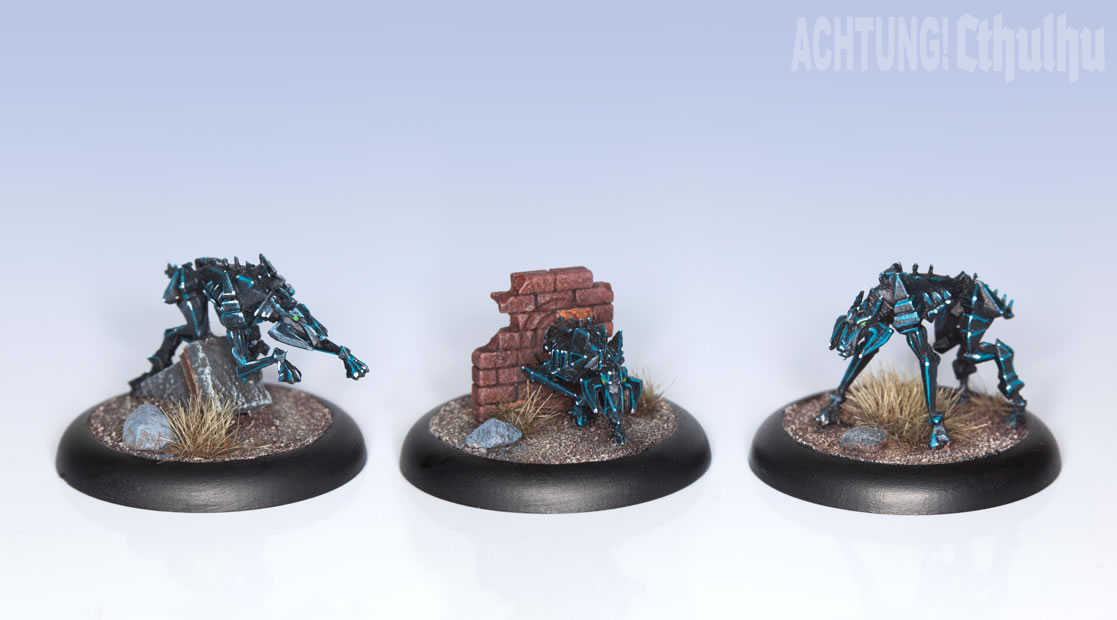 Achtung! Cthulhu: Miniatures - Mythos Creatures - Hounds of Tindalos