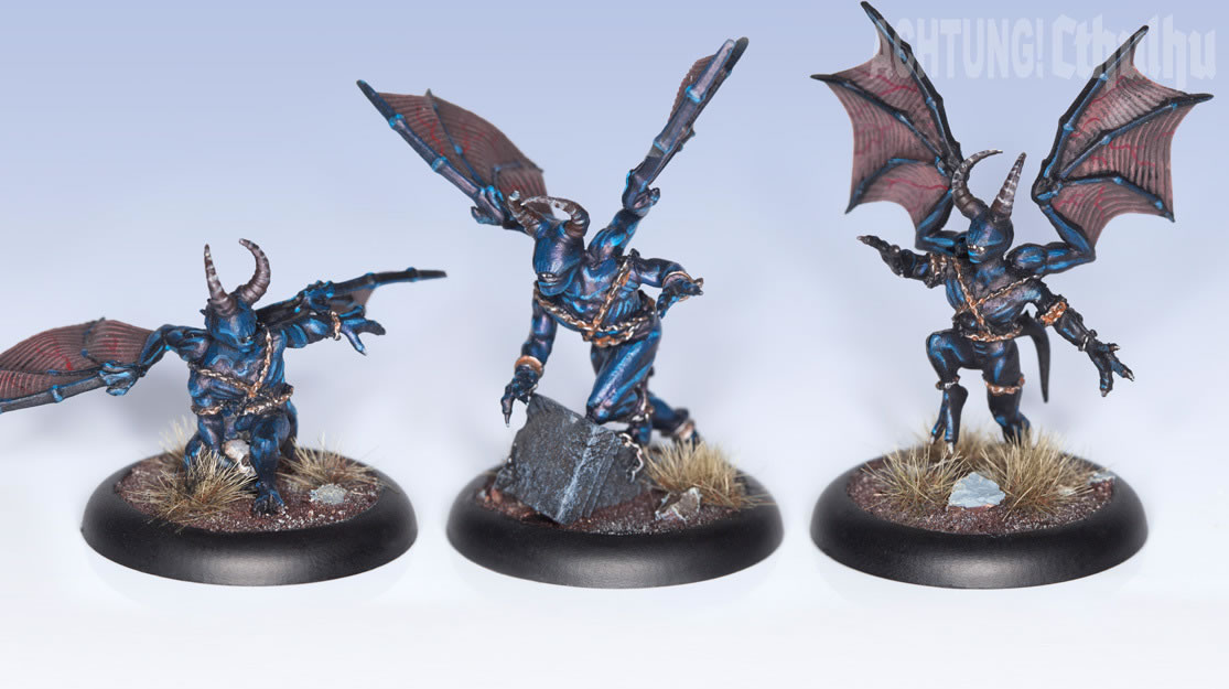 Achtung! Cthulhu: Miniatures - Mythos Creatures - Night Gaunts