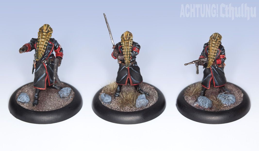 Achtung! Cthulhu: Miniatures - Mythos Creatures - Servitor Overlords of Nyarlathotep