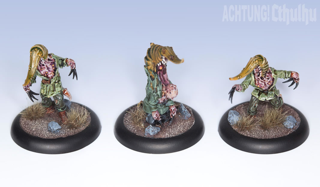 Achtung! Cthulhu: Miniatures - Mythos Creatures - Servitor of Nyarlathotep