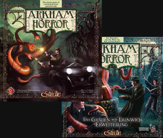 Arkham Horror 2. Edition Bündel - Grundspiel plus Dunwich Erweiterung