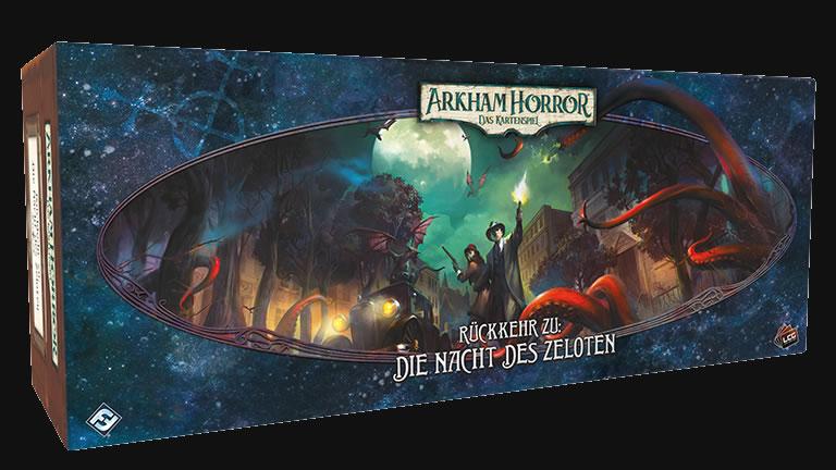 Arkham Horror: Das Kartenspiel - Rückkehr zu: Die Nacht des Zeloten (Erweiterung)