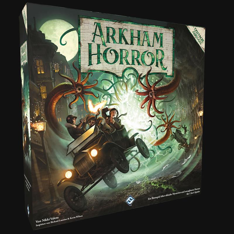 Arkham Horror - 3. Edition (deutsch) - Die großen Alten bedrohen die Stadt.