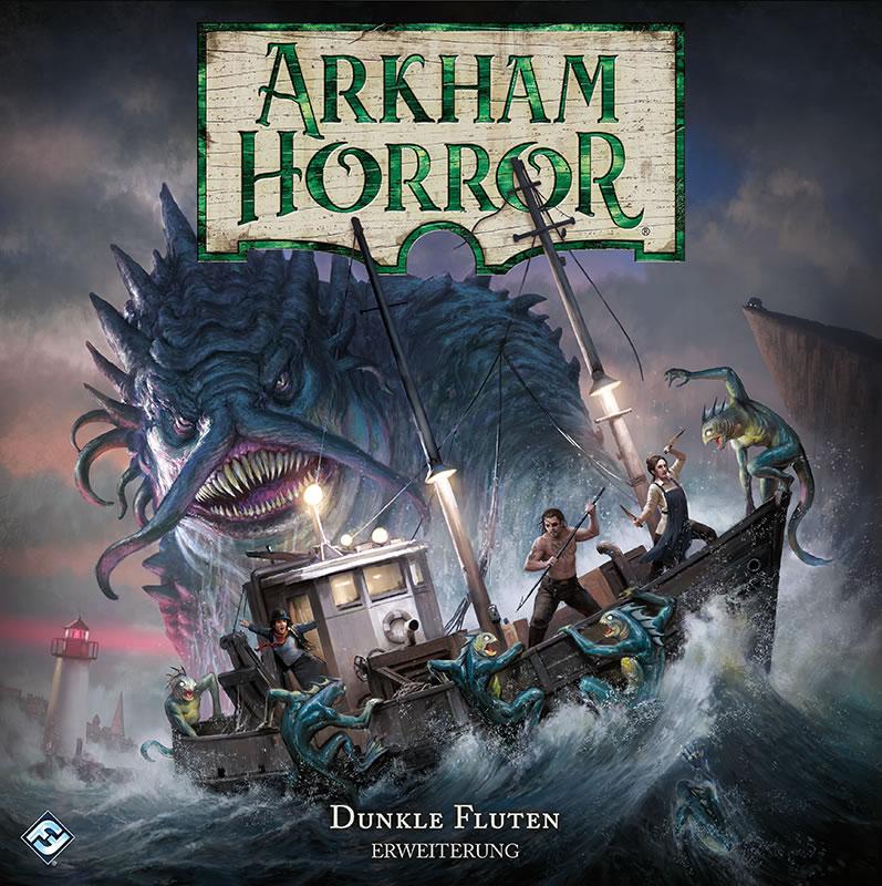 Arkham Horror - 3. Edition (deutsch) - Dunkle Fluten Erweiterung