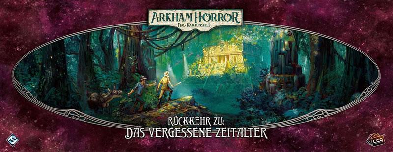 Arkham Horror: Das Kartenspiel - Rückkehr zu: Das vergessene Zeitalter (Erweiterung)