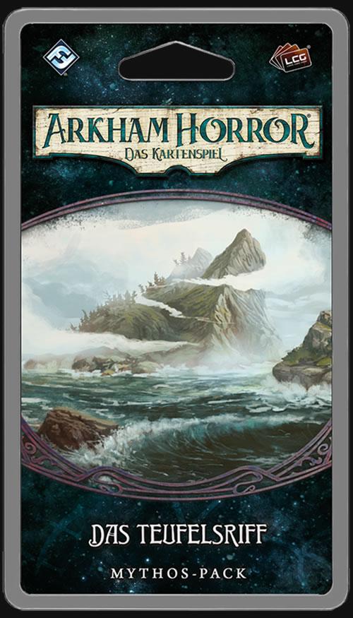 Arkham Horror: Das Kartenspiel - Das Teufelsriff (Erweiterung Die-Innsmouth-Verschwörung-Zyklus #2)