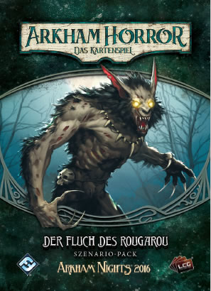 Arkham Horror: Das Kartenspiel - Der Fluch des Rougarou (Erweiterung - Szenario-Pack POD)