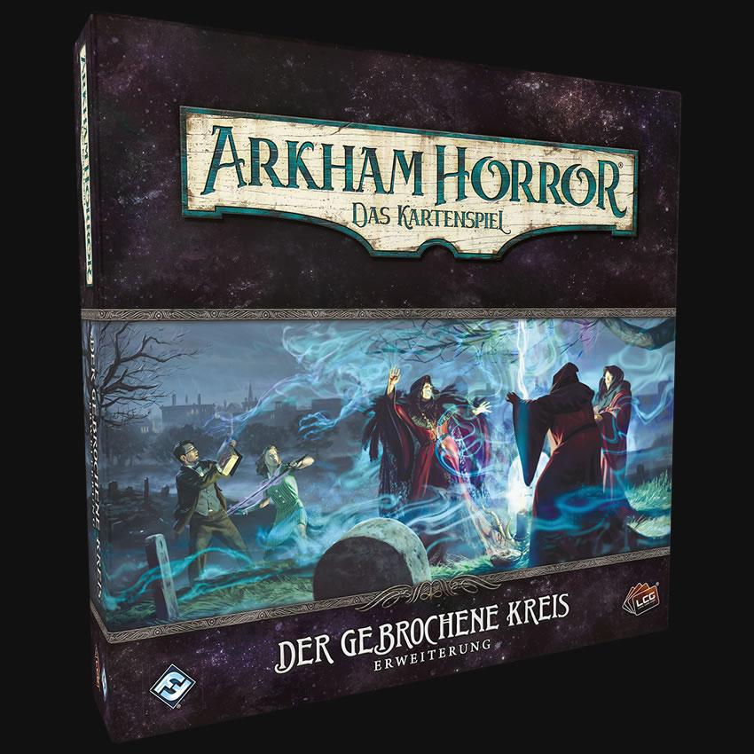 Der gebrochene Kreis - Arkham Horror: Das Kartenspiel - Erweiterung (Deutsch)