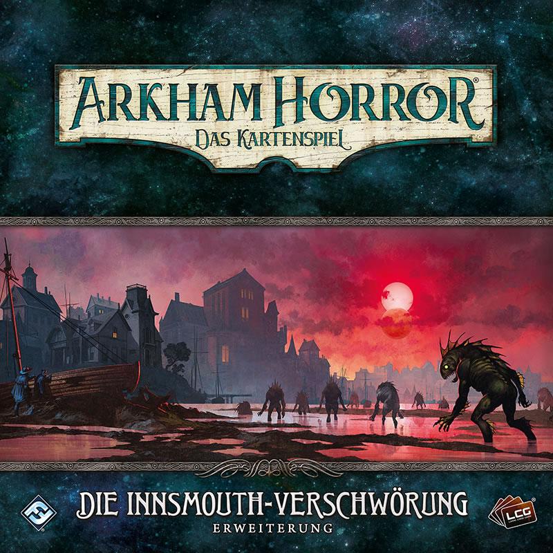 Die Innsmouth-Verschwörung - Arkham Horror: Das Kartenspiel - Erweiterung (Deutsch)