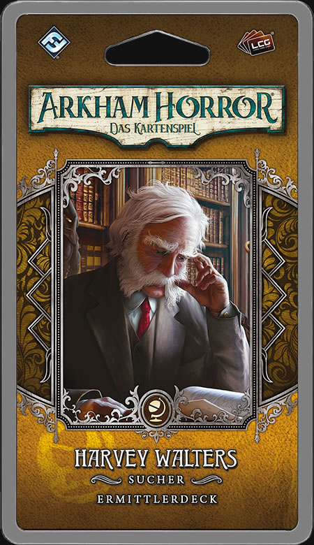 Arkham Horror: Das Kartenspiel - Harvey Walters (Ermittlerdeck DE)