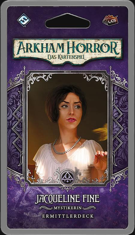 Arkham Horror: Das Kartenspiel - Jacqueline Fine (Ermittlerdeck DE)