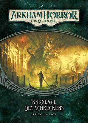 Arkham Horror: Das Kartenspiel - Karneval des Schreckens (Erweiterung - Szenario-Pack POD)