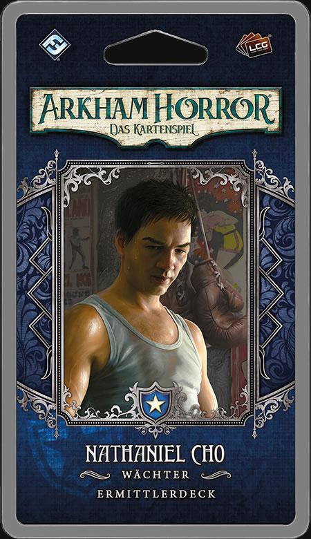 Arkham Horror: Das Kartenspiel - Nathaniel Cho (Ermittlerdeck DE)