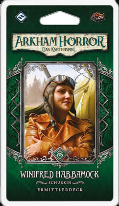 Arkham Horror: Das Kartenspiel - Winifred Habbamock (Ermittlerdeck DE)