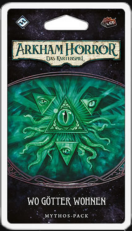 Arkham Horror: Das Kartenspiel - Wo Götter wohnen (Erweiterung Der-Traumfresser-Zyklus 5)