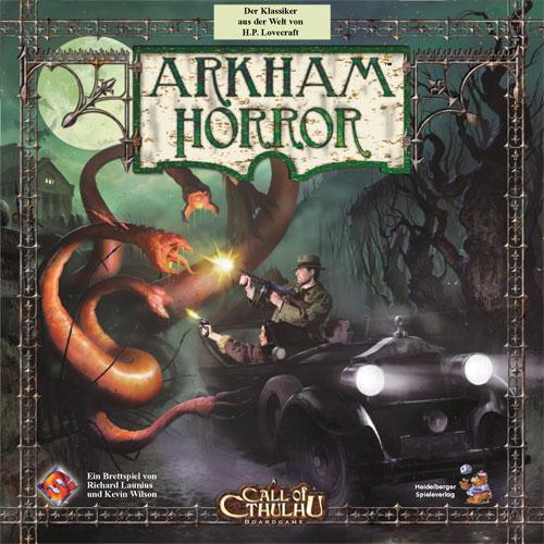 Arkham Horror - 2. Edition (deutsch) - Die großen Alten bedrohen die Stadt.