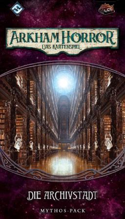 Arkham Horror: Das Kartenspiel - Die Archivstadt (Erweiterung Vergessene-Zeitalter-Zyklus #4)