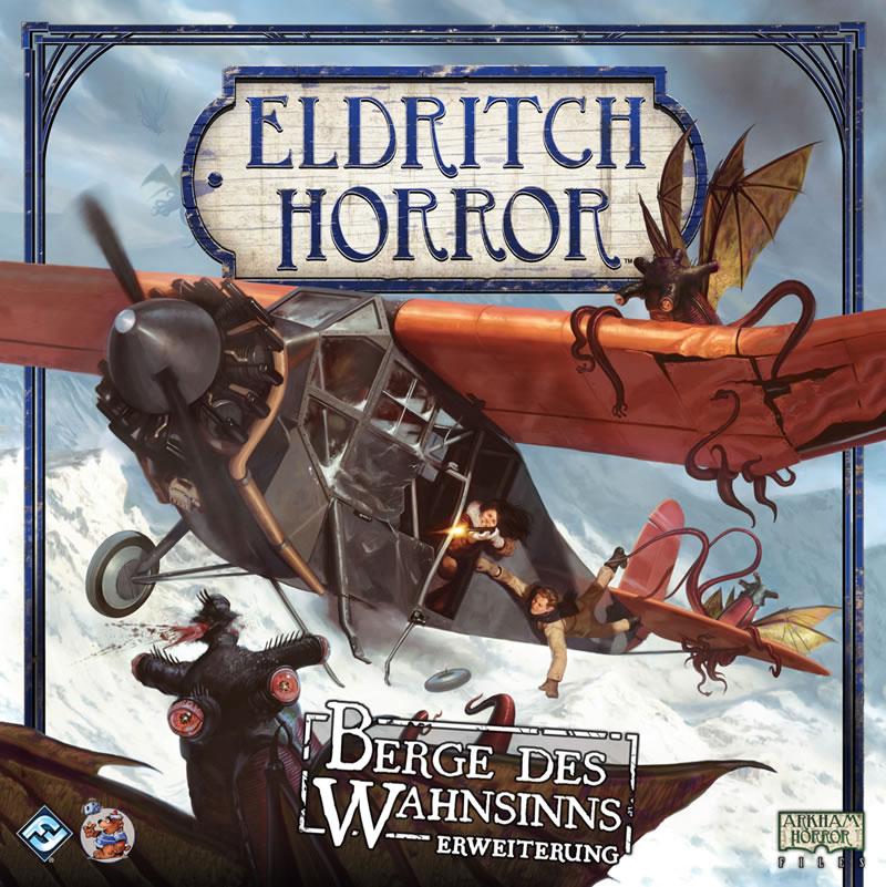 Berge des Wahnsinns - Erweiterung zu Eldritch Horror (Deutsch)