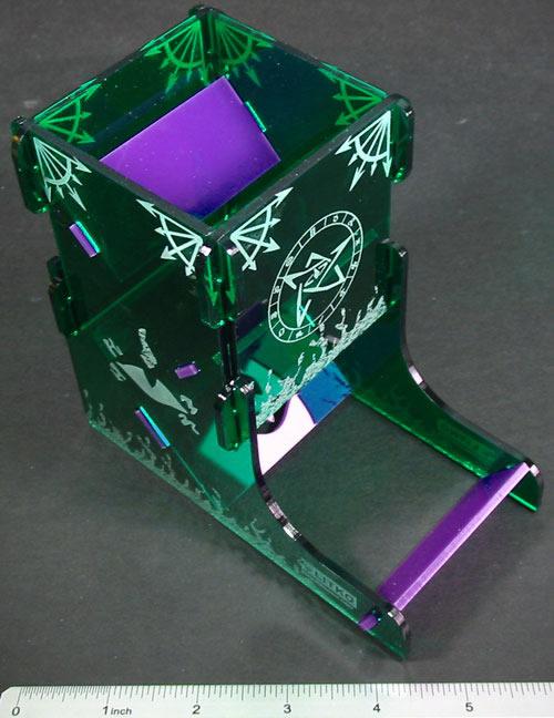 Älteres-Zeichen-Würfelturm - Set (Plexiglas) von LITKO