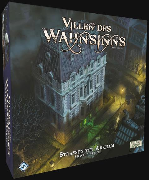 Villen des Wahnsinns - Straßen von Arkham (Erweiterung für die 2. Edition)