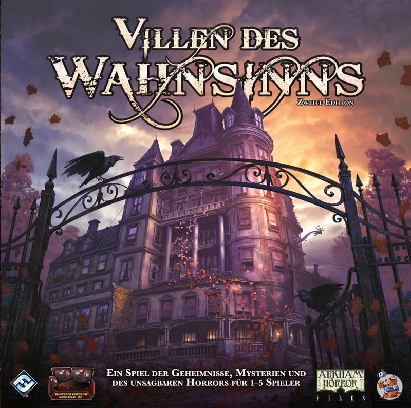 Villen des Wahnsinns - 2. Edition (Brettspiel - Deutsch) - Revised