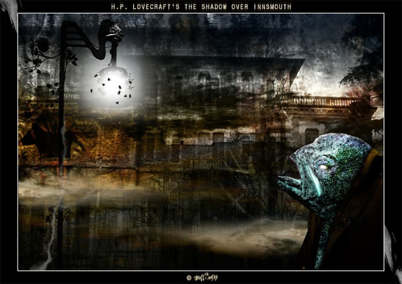 Lovecraft the shadow over Insmouth