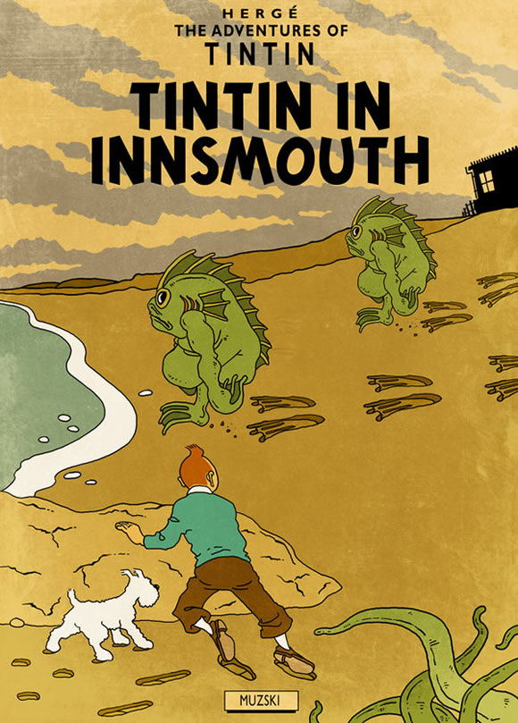 Tim & Struppi in Innsmouth