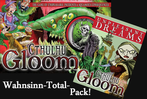 Cthulhu-Gloom Wahnsinn-Total-Pack