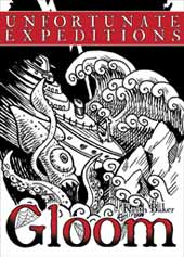 Gloom Erweiterung: Unfortunate Expedition - (englisch)
