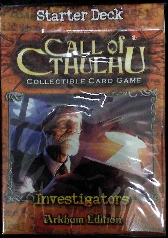 Call of Cthulhu - Sammelkartenspiel (Englisch): Arkham Edition - Investigatoren Starter-Set