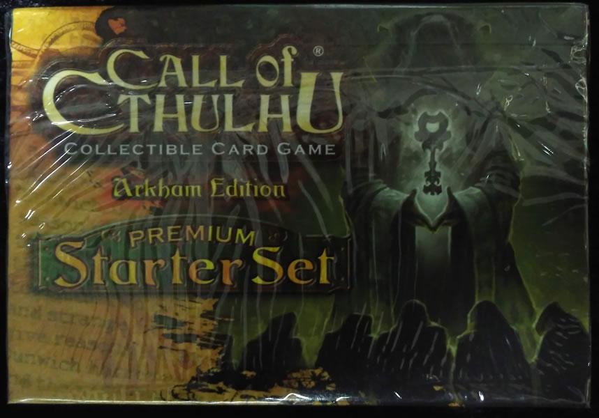 Call of Cthulhu - Sammelkartenspiel (Englisch): Arkham Edition - Premiuim Starter-Set