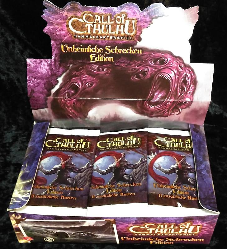 Call of Cthulhu - Sammelkartenspiel (deutsch) - Unheimliche Schrecken (36 Booster Box)