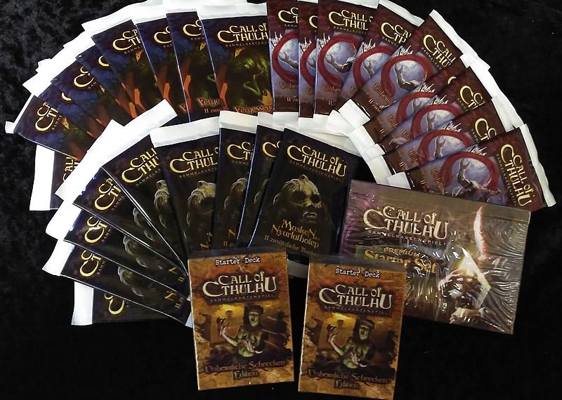 """Kleines """"Call of Cthulhu""""-Komplett-Paket (deutsch)"""