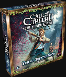 For the Greater Good - Call of Cthulhu Erweiterung (Englisch)
