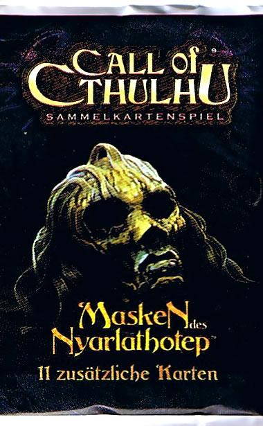 Call of Cthulhu Sammelkartenspiel (deutsch): Masken des Nyarlathotep (Booster)