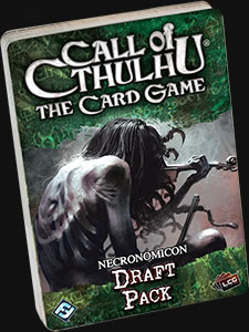 Necronomicon Draft Pack - Call of Cthulhu Kartenspiel (Englisch)
