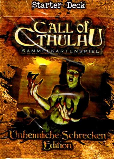 Call of Cthulhu - Sammelkartenspiel (deutsch): Unheimliche Schrecken (Starter Deck)