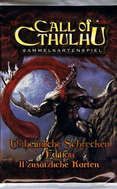 Call of Cthulhu - Sammelkartenspiel (deutsch) - Unheimliche Schrecken (Booster)