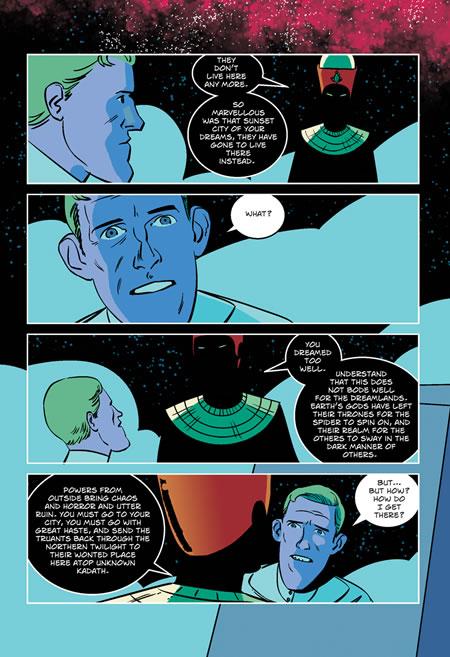 The Dream-Quest of Unknown Kadath - Auszug 5