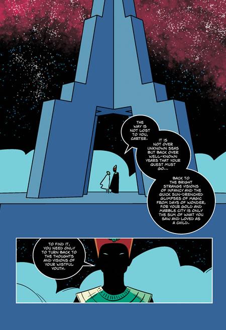 The Dream-Quest of Unknown Kadath - Auszug 5b