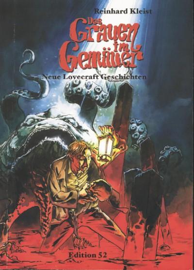 Das Grauen im Gemäuer - Neue Lovecraft-Geschichten von einem der hervorragendsten deutschen Comic Künstler